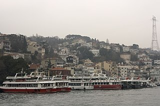 Kuruçeşme Neighborhood in Istanbul, Marmara, Turkey
