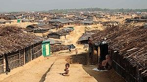Rohingya persecution in Myanmar - Kutupalong refugee camp in Bangladesh. (Photo taken in March 2017 by John Owens/VOA)