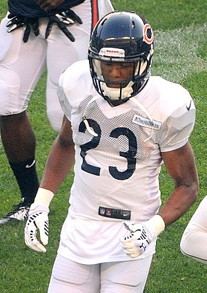 Kyle Fuller - Fuller at Bears training camp in 2014