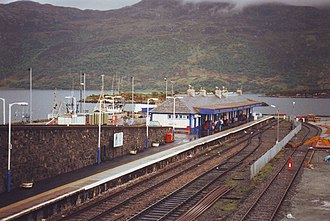 Kyle of Lochalsh railway station - Kyle of Lochalsh station