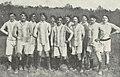 L'équipe du 120e Bataillon de chasseurs avant le match contre l'équipe anglaise du Royal Field Artilery (Mondicourt, 16 avril 1917) bpt6k62364549 162.jpg