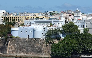 Puerto Rican government-debt crisis - La Fortaleza, the Governor of Puerto Rico's mansion, built in 1533