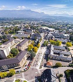 Centre ville de la Motte-Servolex