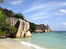 La Digue,Seychelles, Anse Source d´Argent