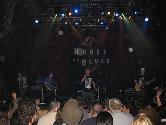 La Dispute (band) - La Dispute in 2011; left to right: Sterenberg, Vass, Dreyer, and Whittemore