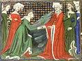 La duchesse de Brabant accueille Isabeau de Bavière.jpg