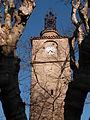 La tour de l'horloge à la Roquebrussanne.JPG