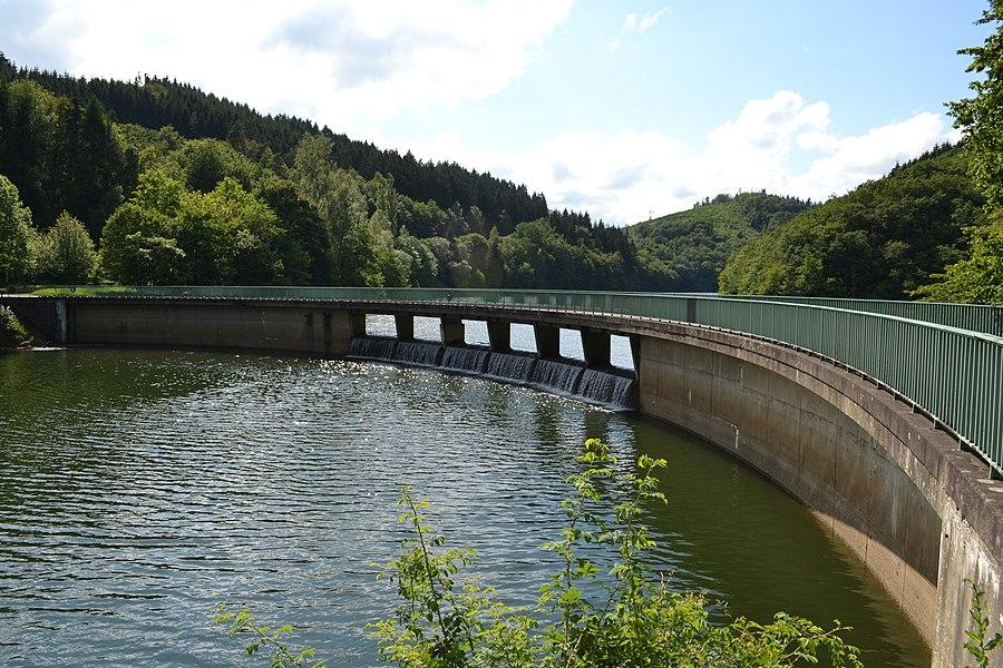 Lac de la Haute-Sûre, Luxembourg 2012