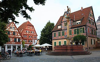 Ladenburg - Ladenburg market place