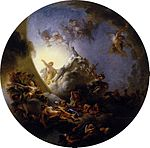 Lafosse, Charles de - Sunrise with the Chariot of Apollo - c. 1672.jpg