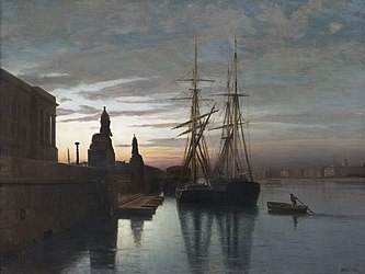 Lagorio - View to Academy of Arts from the Neva River, 1880.jpg