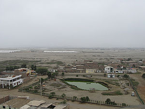 Chilca, Cañete - View of the city