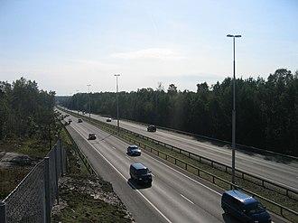 Finnish national road 4 - Image: Lahdenvayla helsinki 1