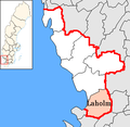 Laholm Municipality in Halland County.png