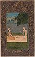 Laila and Majnun converse beneath a tree (6124512869).jpg