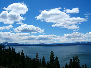 Lake Almanor from Johnson's Grade
