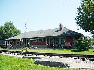 North East, Pennsylvania - Lake Shore Railway Museum (1899)
