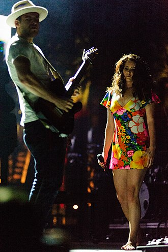 Lana Del Rey - Del Rey performing at Coachella Festival in 2014.