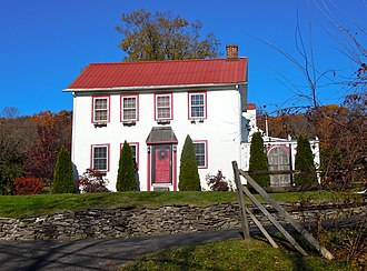 Salford Township, Montgomery County, Pennsylvania - Landis Homestead on Morwood Road