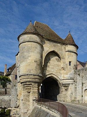Porte d'Ardon in Laon, Picardie, France