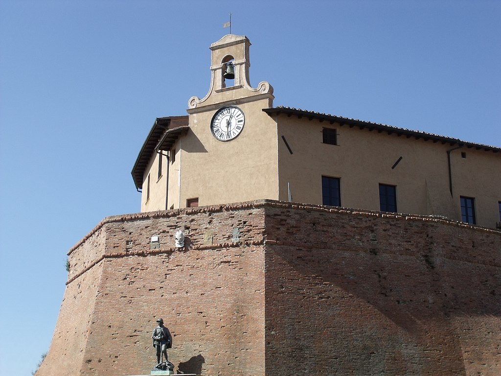 Castle Castello dei Vicari in Lari, Casciana Terme Lari, Province of Pisa
