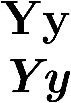 Y (bókstavur)