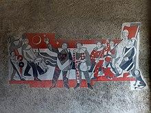 Wall fresco in the Laufenburg city gate