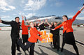 Launch of Jetstar flights from Sydney to Queenstown - Dec 2011 (6769270299).jpg