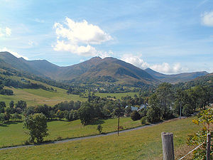 Communes of the Cantal department - Image: Lavigerie overview