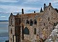 Le Mont-Saint-Michel Abbaye de Mont-Saint-Michel Cloître 02.jpg