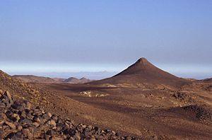 Mount Tahat - Mount Tahat, Algeria