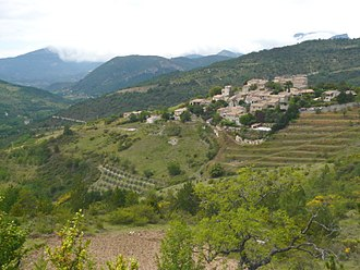 Arpavon - A general view of the village of Arpavon