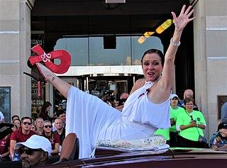 Leanza Cornett American beauty pageant contestant