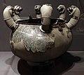 Lebete etrusco, 710-690 ac ca. (fi man) 01.jpg