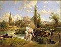 Lecomte-Vernet - Le duc de Chartres sauve de la noyade l'ingénieur Siret en août 1791 à Vendôme.jpg