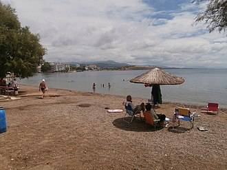 Lefkandi - Beach at Lefkandi