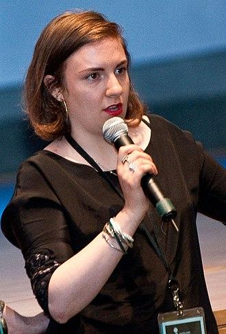 Lena Dunham - Image: Lena Dunham (cropped)