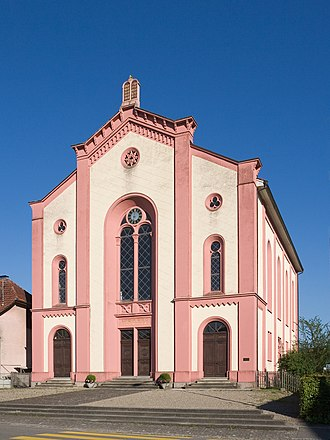 History of the Jews in Switzerland - The synagogue of Lengnau.