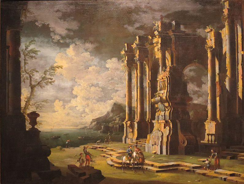 Scenes Of Old Roman Ruins 83
