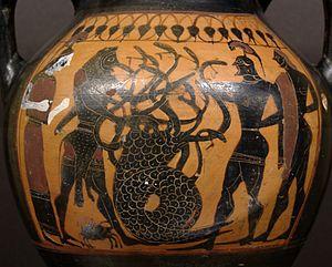 Princeton Painter - Image: Lernaean Hydra Louvre CA7318