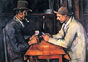 Les Joueurs de cartes, par Paul Cézanne, collection Al-Thani, Yorck.jpg