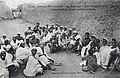 Les notables d'un village assemblés pour une grave affaire-Vallée du Niger.jpg
