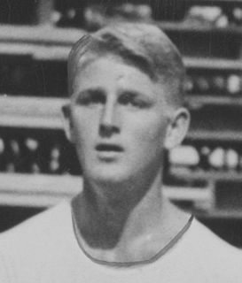 Lew Hoad Australian tennis player