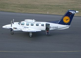 Piper PA-42 Cheyenne - Lufthansa Cheyenne III with a T-tail
