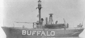 United States lightship Buffalo (LV-82) - Image: Lightship 82 before 1913 Great Lakes storm