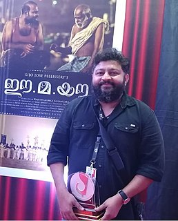 Lijo Jose Pellissery Indian filmmaker (born 1978)