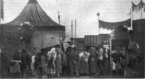 Carousel (musical) - The opening carnival scene in Liliom inspired the pantomime that begins Carousel; 1921 Theatre Guild production