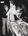 Linda Blair, Teddy Hartlett, and Deborah Blair (1977).jpg