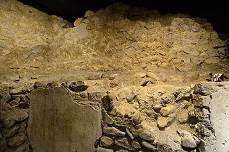 Turicum - Roman remains of a building at Lindenhofkeller