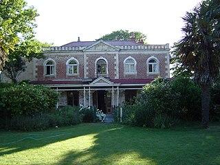 Linwood House New Zealand historic building